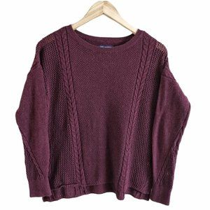 American Eagle Outfitters Scoop Neck Knit Sweater